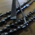 Remplacement et entretien de chaines de tronçonneuses